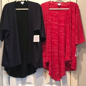 Two never worn Lularoe Lindseys